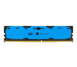 Pamięć RAM DDR4 GOODRAM 8GB 2400MHz IRIDIUM Blue CL15 (2x4GB)