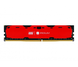 Pamięć RAM DDR4 GOODRAM 16GB 2400MHz IRIDIUM Red CL15 (2x8GB)