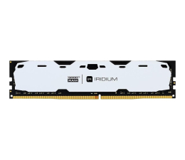 Pamięć RAM DDR4 GOODRAM 8GB 2400MHz IRIDIUM White CL15 (2x4GB)