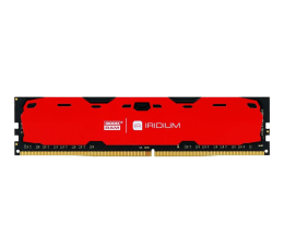 Pamięć RAM DDR4 GOODRAM 8GB 2400MHz IRIDIUM Red CL15