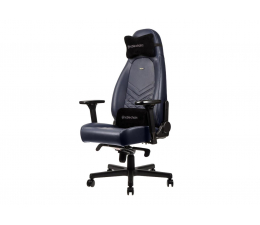 Fotel gamingowy noblechairs ICON Gaming Skórzany (Niebiesko-Grafitowy)