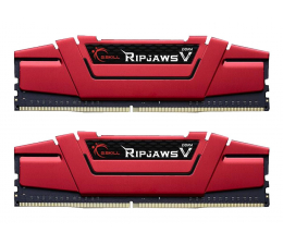 Pamięć RAM DDR4 G.SKILL 8GB 2666MHz RipjawsV CL15 RED (2x4GB)