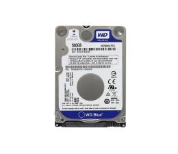 Dysk HDD WD 500GB 5400obr. 16MB Blue