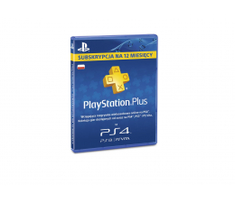 Abonament/PrePaid do konsoli Sony PlayStation Plus 365 dni