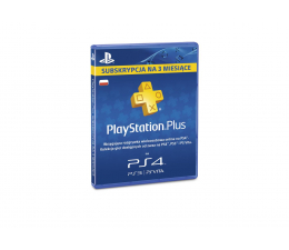 Abonament/PrePaid do konsoli Sony PlayStation Plus 90 dni