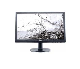 """Monitor LED 21"""" i mniejszy AOC M2060SWQ czarny"""
