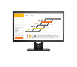 "Monitor LED 24"" Dell E2418HN"