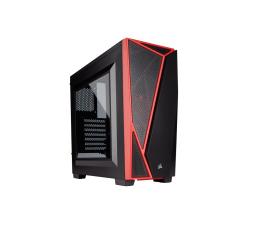 Obudowa do komputera Corsair Carbide Series SPEC-04 czerwono-czarna z oknem