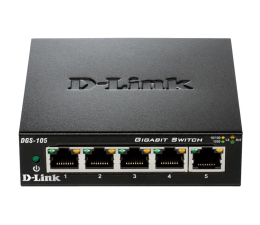 Switch D-Link 5p DGS-105 (5x10/100/1000Mbit)
