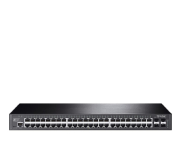 Switch TP-Link 52p T2600G-52TS(TL-SG3452) (48x1000Mbit,4xSFP)