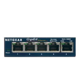 Switch Netgear 5p GS105GE (5x10/100/1000Mbit)
