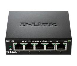 Switch D-Link 5p DES-105 (5x10/100Mbit)