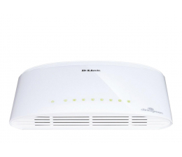 Switch D-Link  8p DGS-1008D (8x10/100/1000Mbit)
