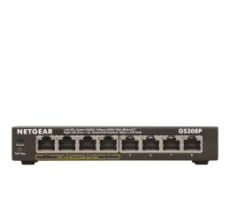 Switch Netgear 8p GS308P-100PES (8x10/100/1000Mbit 4xPoE)