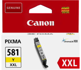 Tusz do drukarki Canon CLI-581Y XXL Yellow 830 str.