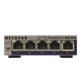 Switch Netgear 5p GS105E (5x100/1000Mbit)