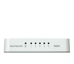 Switch Netgear 5p FS205-100PES (5x10/100Mbit)