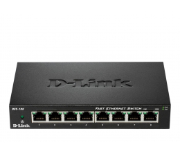 Switch D-Link 8p DES-108 (8x10/100Mbit)