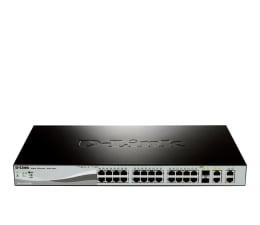 Switche D-Link 28p DES-1210-28P (24x10/100Mbit 2x1Gbit 2xSFP)