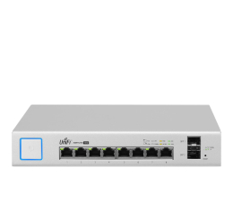 Switch Ubiquiti 10p UniFi US-8-150W (8x100/1000Mbit 2xSFP) PoE+