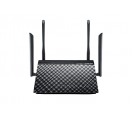 Router ASUS RT-AC1200G+ (1200Mb/s a/b/g/n/ac, USB)