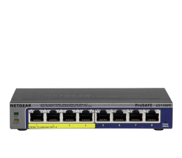 Switch Netgear 8p GS108PE-300EUS (8x10/100/1000Mbit 4xPoE)