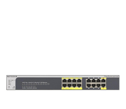 Switch Netgear 16p GS516TP (16x10/100/1000Mbit, 8xPoE, 2xPoE-PD)