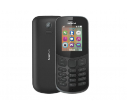 Smartfon / Telefon Nokia 130 2017 Dual SIM czarny