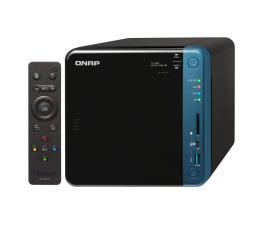 Dysk sieciowy NAS / macierz QNAP TS-453B-8G (4xHDD, 4x1.5-2.3GHz, 8GB, 5xUSB,2xLAN)