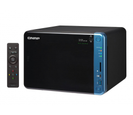 Dysk sieciowy NAS / macierz QNAP TS-653B-8G (6xHDD, 4x1.5-2.3GHz, 8GB, 5xUSB,2xLAN)
