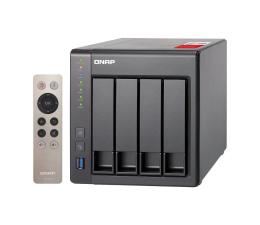 Dysk sieciowy NAS / macierz QNAP TS-451+-8G (4xHDD, 4x2-2.42GHz, 8GB, 4xUSB, 2xLAN)