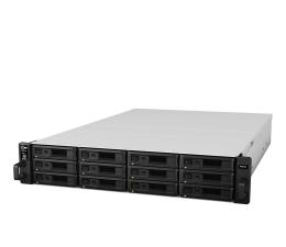 Dysk sieciowy NAS / macierz Synology RS2416+ RACK (12xHDD, 4x2.4GHz, 2GB, 4xUSB, 4xLAN)