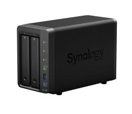Dysk sieciowy NAS / macierz Synology DS718+ (2xHDD, 4x1.5-2.3GHz, 2GB, 3xUSB, 2xLAN)