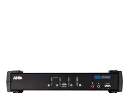 Przełącznik KVM ATEN CS1764A-AT-G USB + DVI-D + audio (4 komputery)