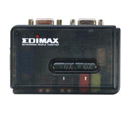 Przełącznik KVM Edimax EK-UAK2 USB + VGA + audio (2 komputery) 1,8m