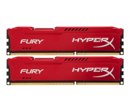 Pamięć RAM DDR3 HyperX 8GB (2x4GB) 1866MHz CL10 Fury Red