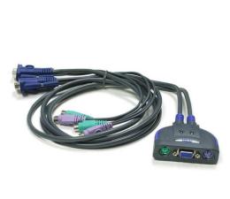 Przełącznik KVM ATEN CS62S-AT PS/2 + VGA (2 komputery) 0,9m