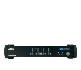 Przełącznik KVM ATEN CS1784A-AT-G USB + DVI + audio (4 komputery)