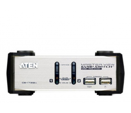 Przełącznik KVM ATEN CS1732AC-AT USB + VGA + audio (2 komputery)