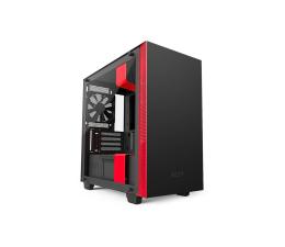 Obudowa do komputera NZXT H400i matowa czarno-czerwona USB 3.1