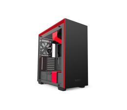 Obudowa do komputera NZXT H700i matowa czarno-czerwona USB 3.1
