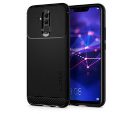 Etui/obudowa na smartfona Spigen Rugged Armor do Huawei Mate 20 Lite Black