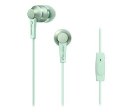 Słuchawki przewodowe Pioneer SE-C3T Zielone