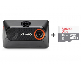 "Wideorejestrator Mio MiVue 785 Full HD/2,7""/140 + 16GB"