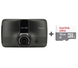 "Wideorejestrator Mio MiVue 733 Wi-Fi FullHD/2,7""/130 + 16GB"