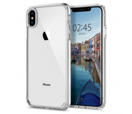Etui / obudowa na smartfona Spigen Ultra Hybrid do iPhone XS Max Crystal Clear