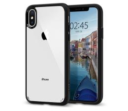 Etui / obudowa na smartfona Spigen Ultra Hybrid do iPhone XS Matte Black