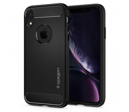 Etui/obudowa na smartfona Spigen Rugged Armor do iPhone XR Matte Black