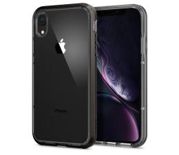 Etui/obudowa na smartfona Spigen Neo Hybrid Crystal do iPhone XR Gunmetal