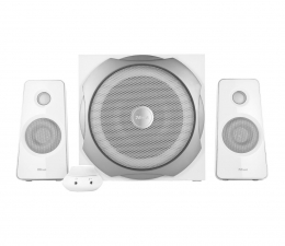 Głośniki komputerowe Trust 2.1 Tytan Speaker Set (biały)